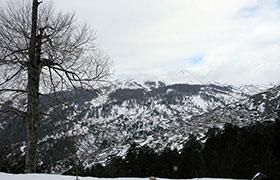 Χιονίζει στα ορεινά του Νομού Ιωαννίνων